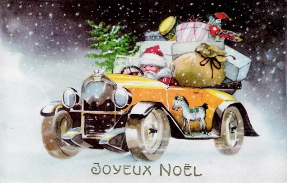 Pere Noel Traineau >> L'histoire du Père Noël racontée aux enfants.